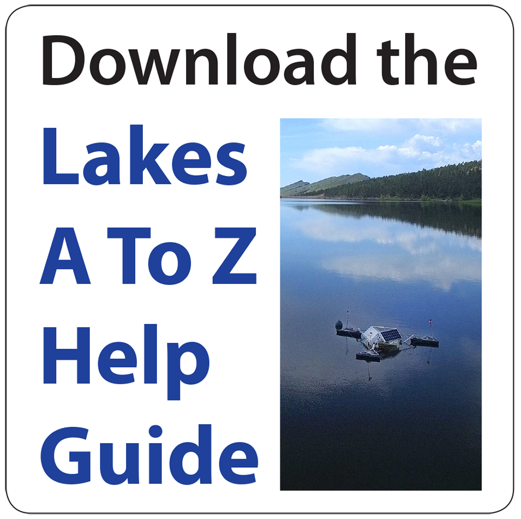 button image to download the Lakes A To Z Help Guide