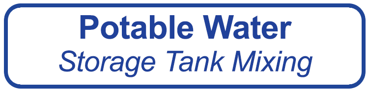 button- potable water- storage tank mixing