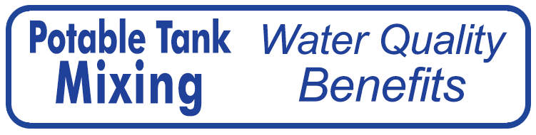 button for anchor link to potable water storage tank mixing water quality benefits