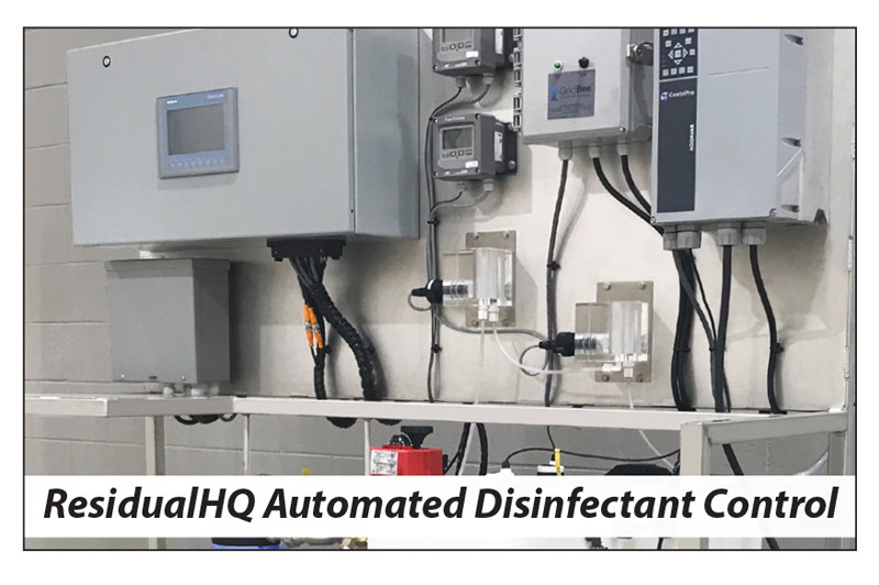 image showing the ResidualHQ© Automated Disinfectant Control System
