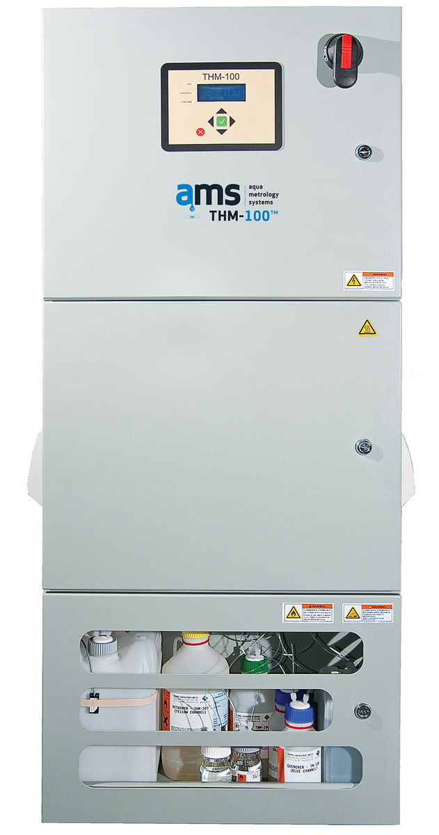 image showing the Aqua Metrology Systems (AMS) THM-100FP THM Analyzer with formation potential measurement capability